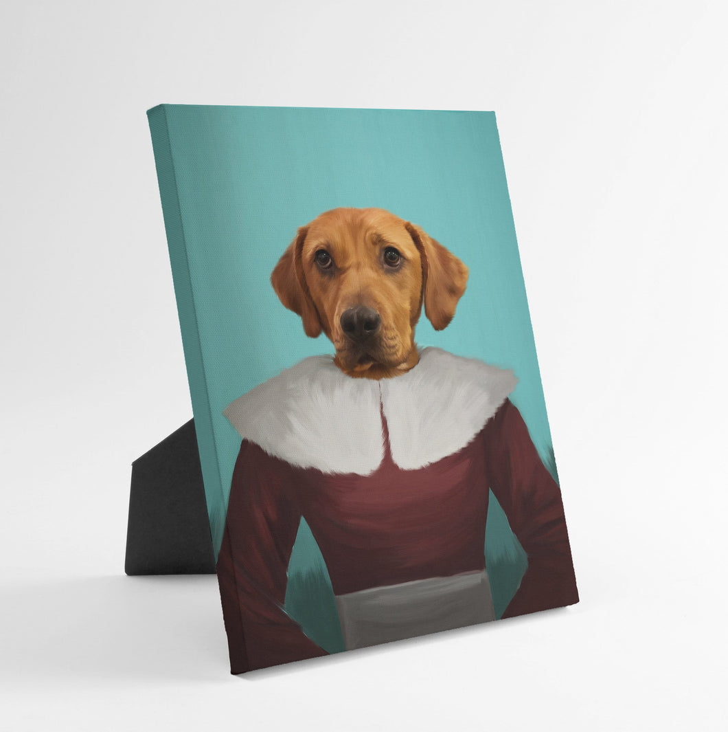 Mrs Claus - Custom Standing Canvas