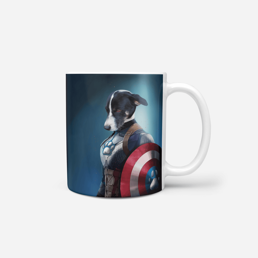Captain Pawmerica - Custom Mug