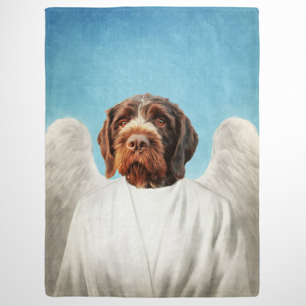 The Angel - Custom Pet Blanket