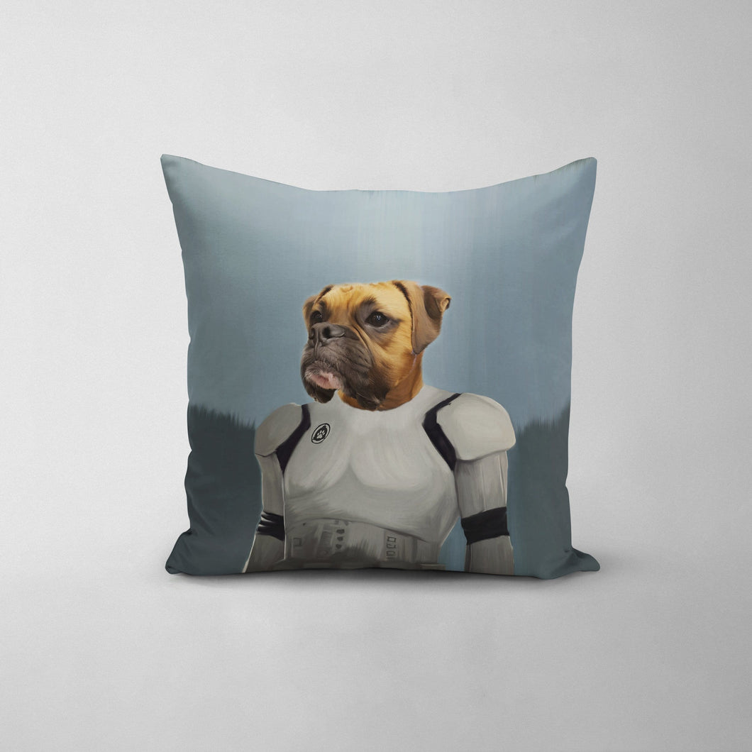 The Trooper - Custom Throw Pillow