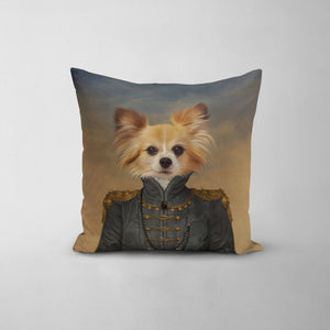 The Baroness - Custom Throw Pillow