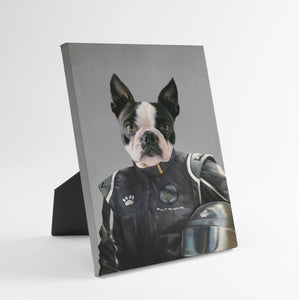 The Race Car Driver - Custom Standing Canvas