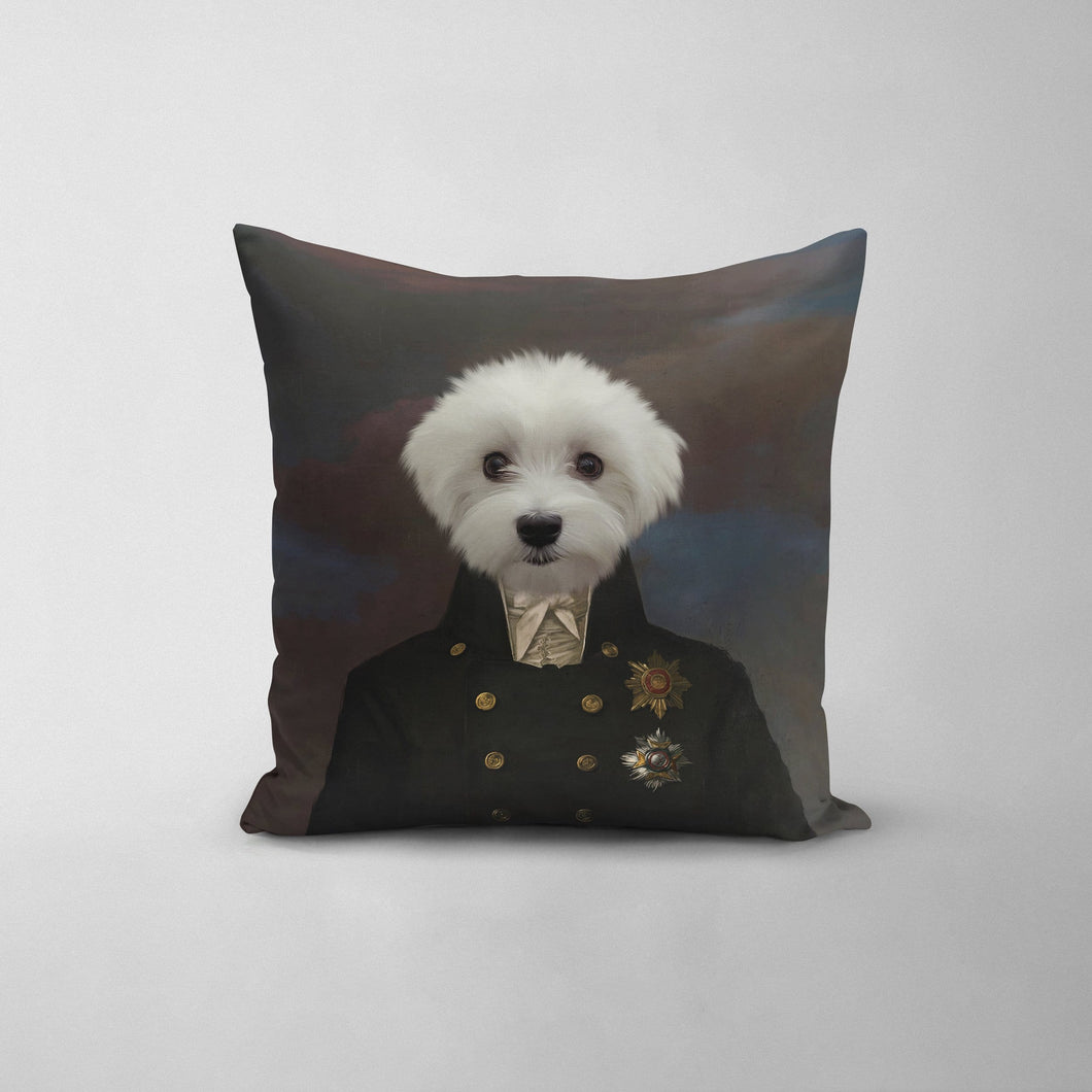 The Captain - Custom Throw Pillow