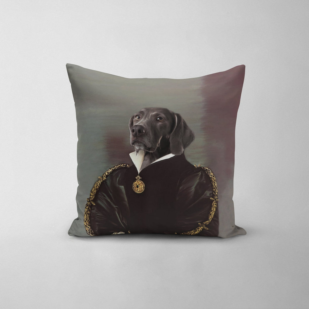 The Duchess - Custom Throw Pillow
