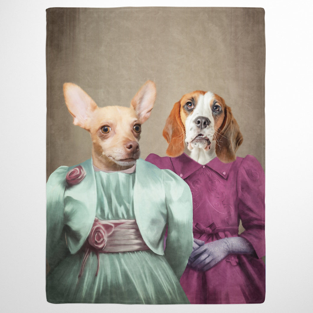 The Sisters - Custom Pet Blanket