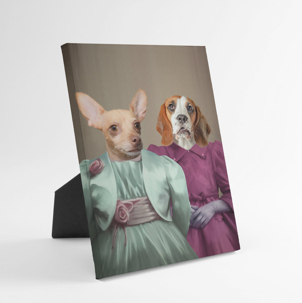 The Sisters - Custom Standing Canvas
