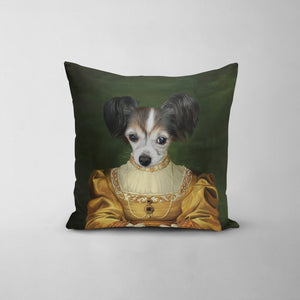 The Golden Girl - Custom Throw Pillow