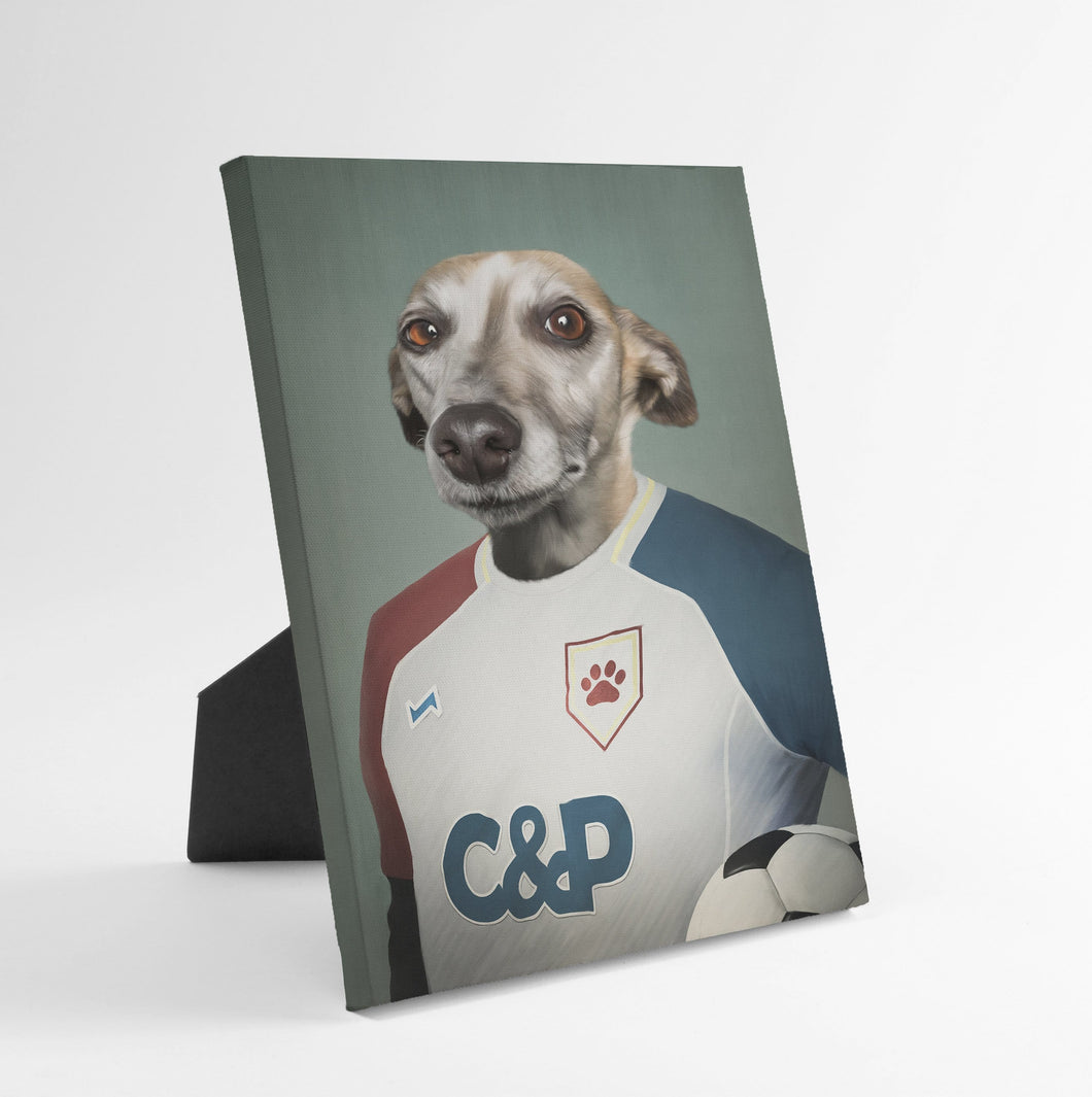 The Soccer Player - Custom Standing Canvas