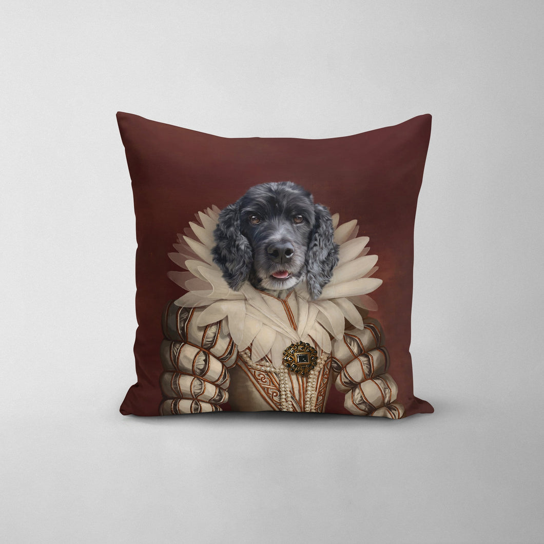 The Queen - Custom Throw Pillow