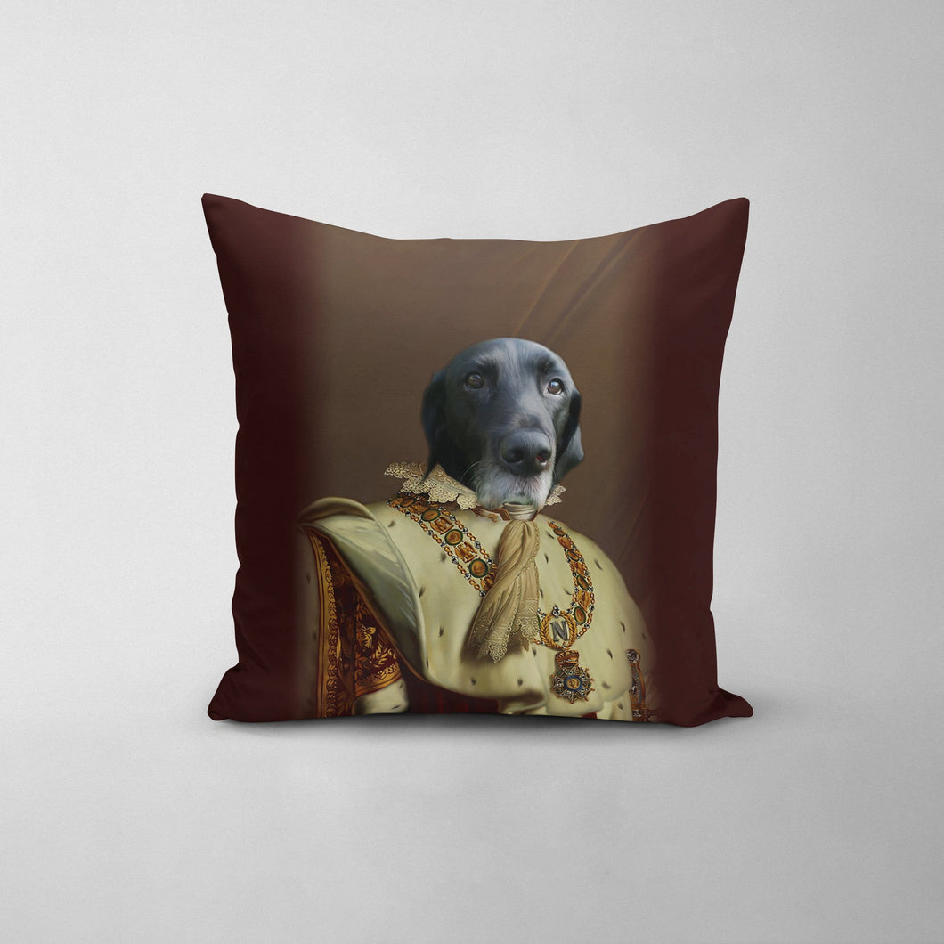 The Emperor - Custom Throw Pillow