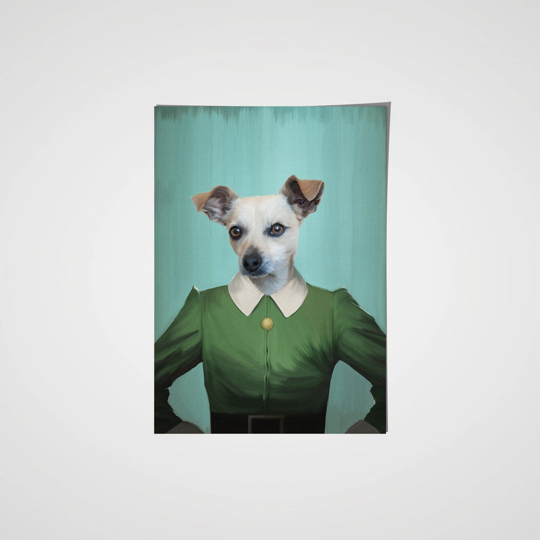 Elf - Custom Pet Poster