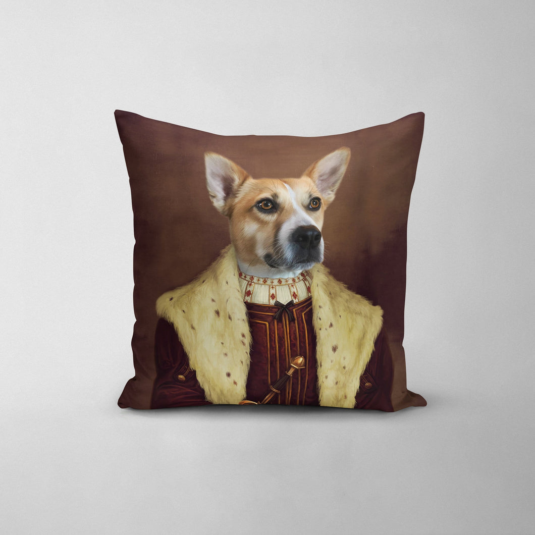 The Young King - Custom Throw Pillow