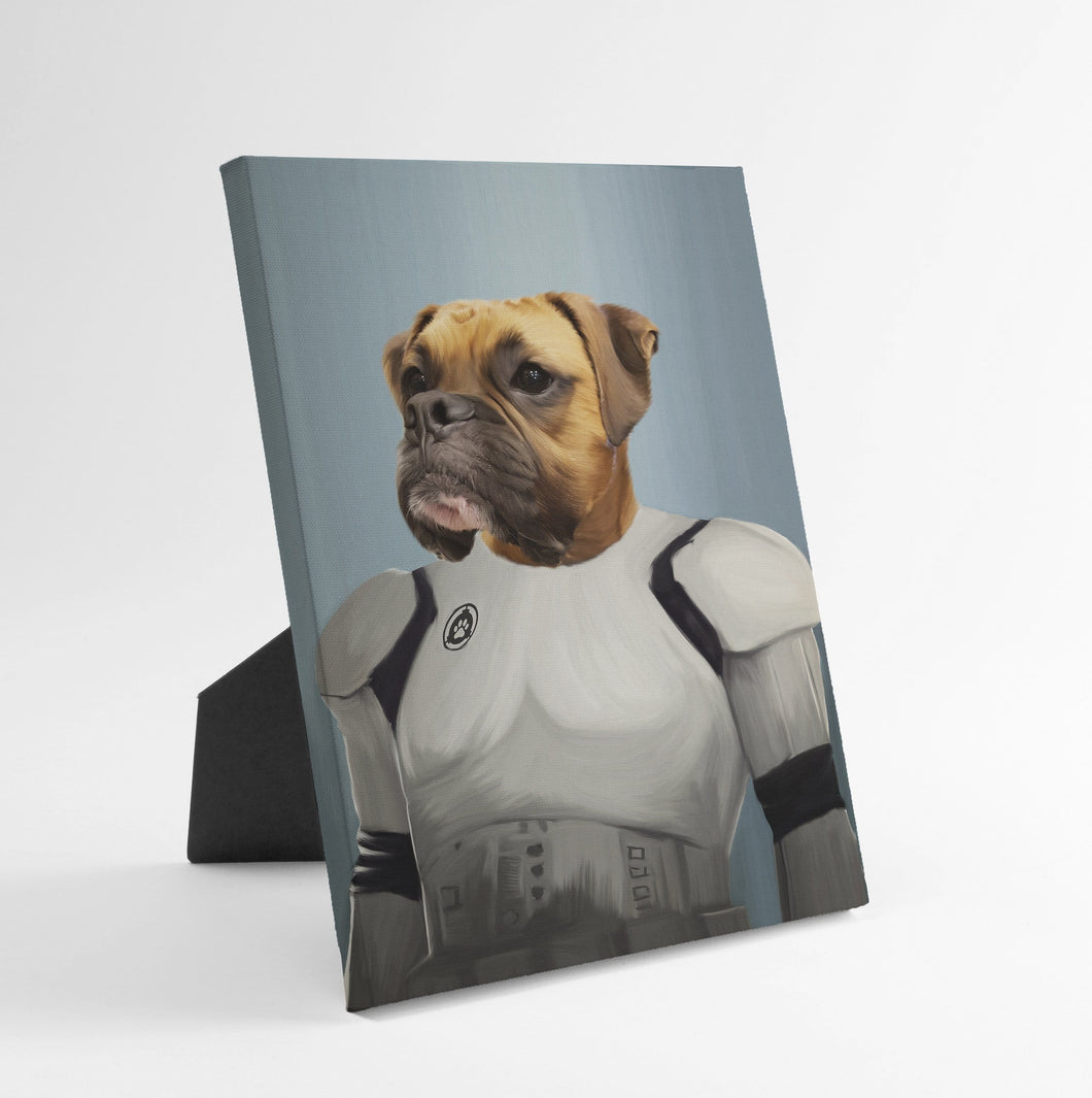 The Trooper - Custom Standing Canvas