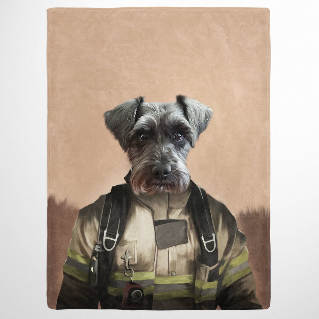 The Pilot - Custom Pet Blanket
