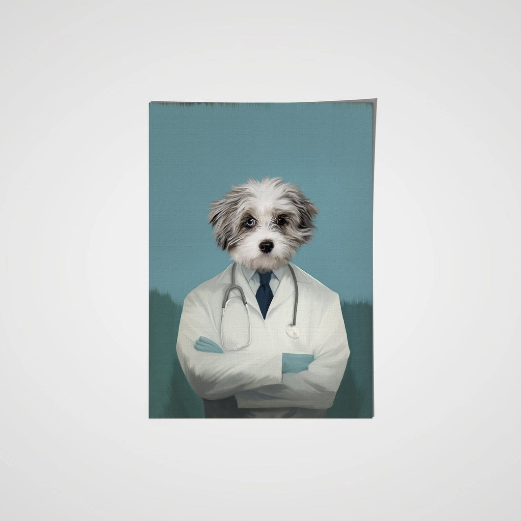 The Doctor - Custom Pet Poster