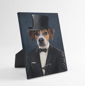 The Gentleman - Custom Standing Canvas