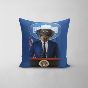 The Pawresident - Custom Throw Pillow