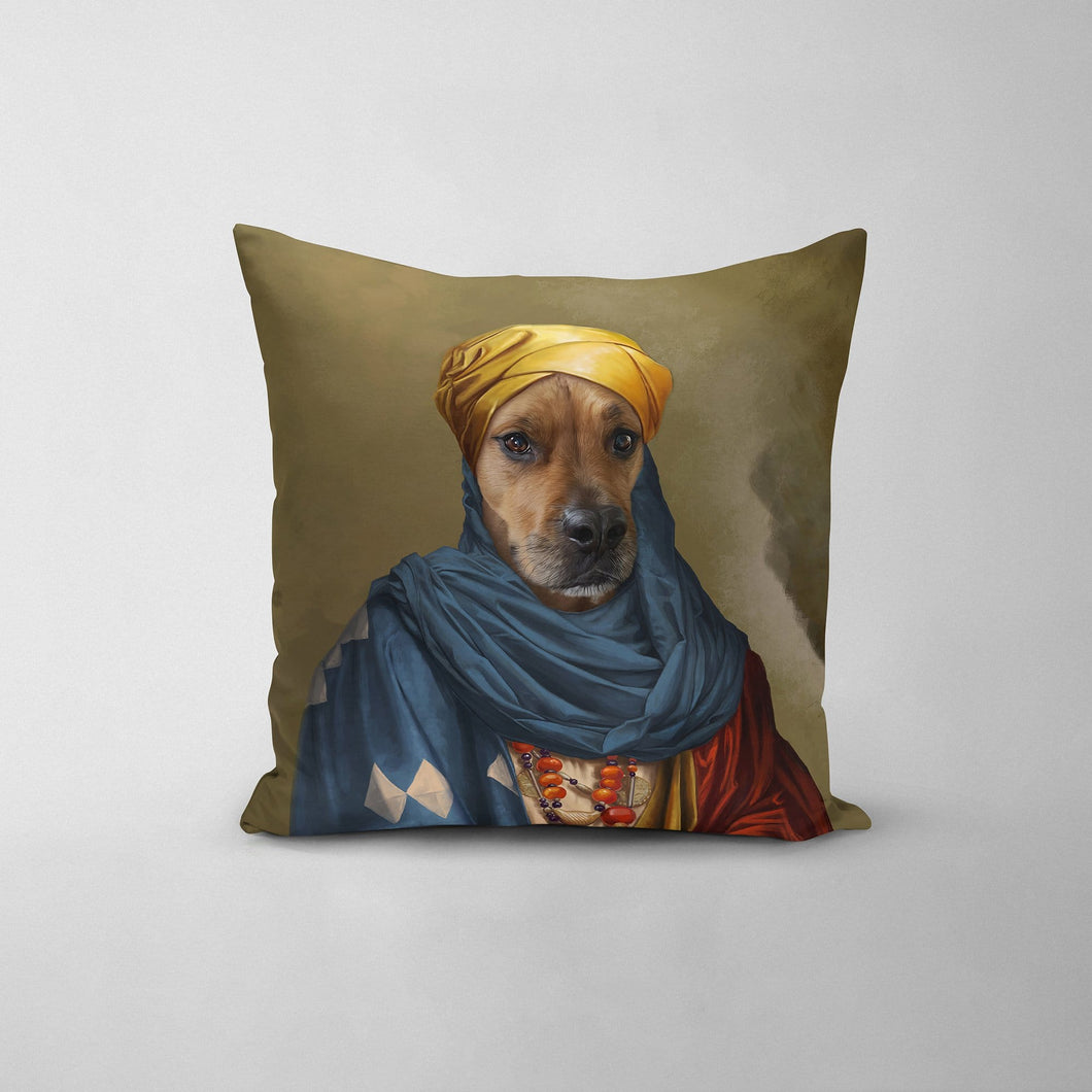 The African Prince - Custom Throw Pillow