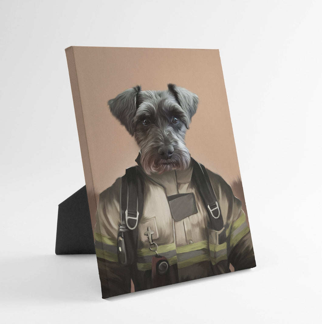The Pilot - Custom Standing Canvas
