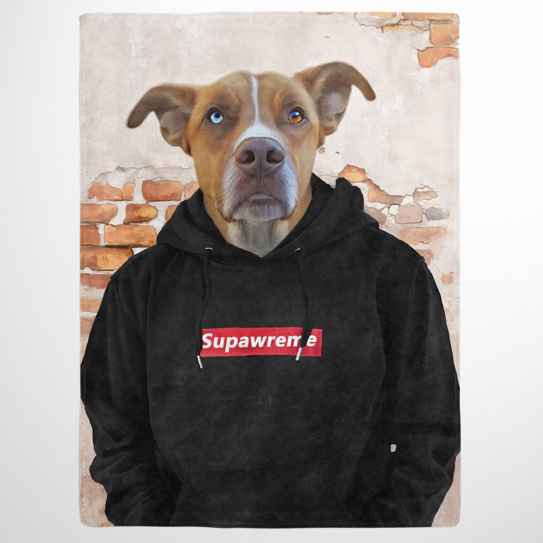 The Hypebeast - Custom Pet Blanket