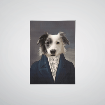 The Aristocrat - Custom Pet Poster