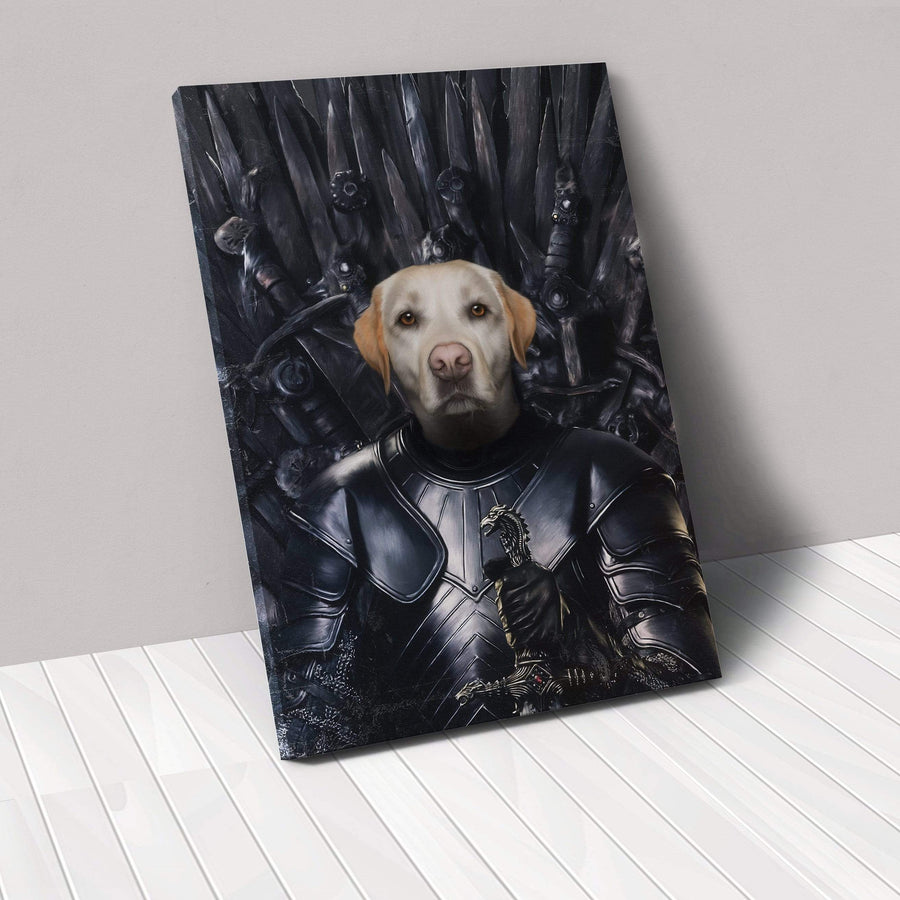 The Oathkeeper - Custom Pet Canvas