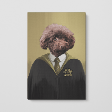 Hufflewoof - Custom Pet Canvas