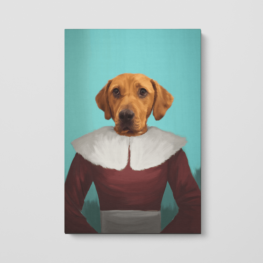 Mrs Claus - Custom Pet Canvas