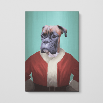 Santa Claus - Custom Pet Canvas