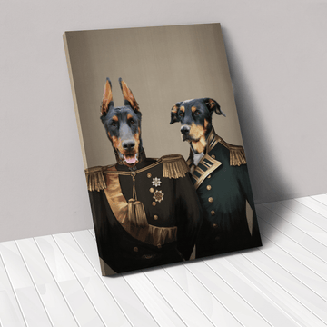 The Brothers In Arms - Custom Pet Canvas
