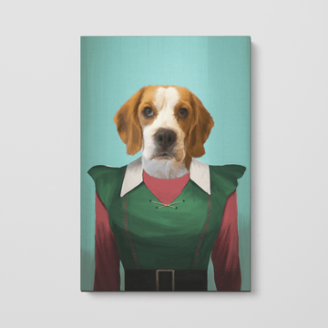 Female Elf - Custom Pet Canvas