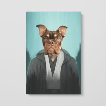 The Light Side - Custom Pet Canvas