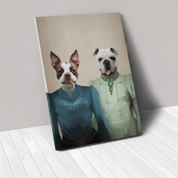 The Little Ladies - Custom Pet Canvas
