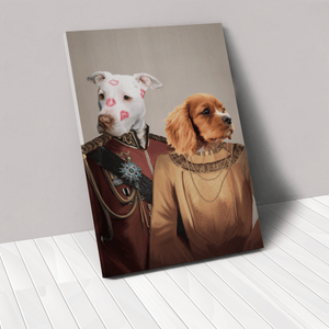 The Lord And Lady - Custom Pet Canvas