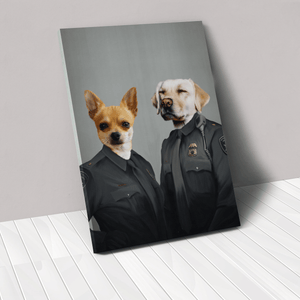 The Officers - Custom Pet Canvas