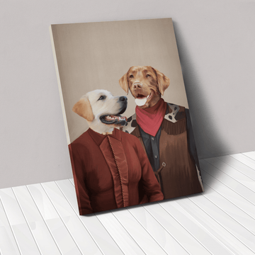 The Outlaws - Custom Pet Canvas