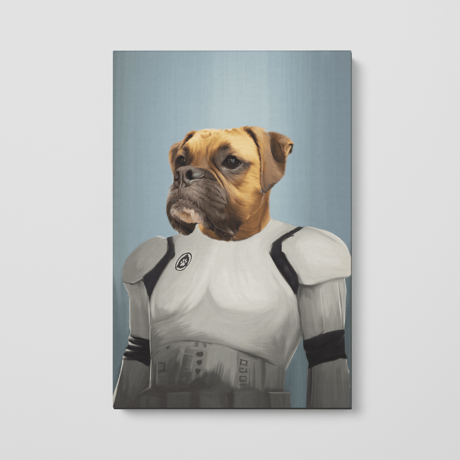 The Trooper - Custom Pet Canvas