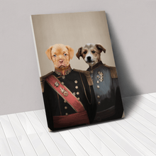 Load image into Gallery viewer, The War Heroes - Custom Pet Canvas
