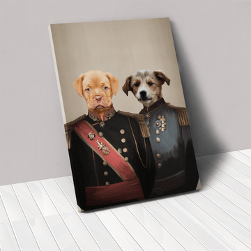 The War Heroes - Custom Pet Canvas