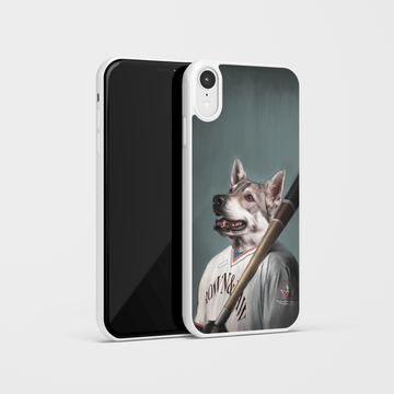 The Baseball Player - Custom Pet Phone Case