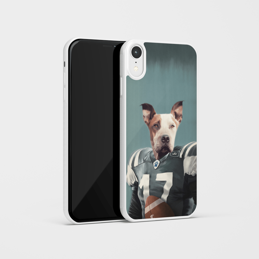 The Football Player - Custom Pet Phone Case