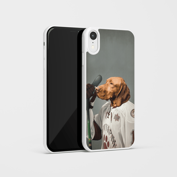 The Ice Hockey Player - Custom Pet Phone Case