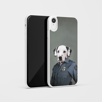 The Female Police Officer - Custom Pet Phone Case