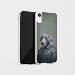 The Male Police Officer - Custom Pet Phone Case