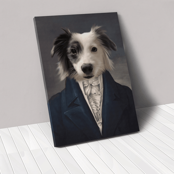 The Aristocrat - Custom Pet Canvas