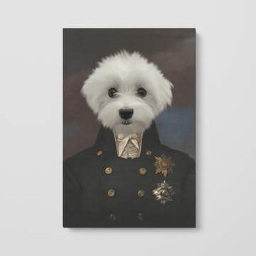 The Captain - Custom Pet Canvas