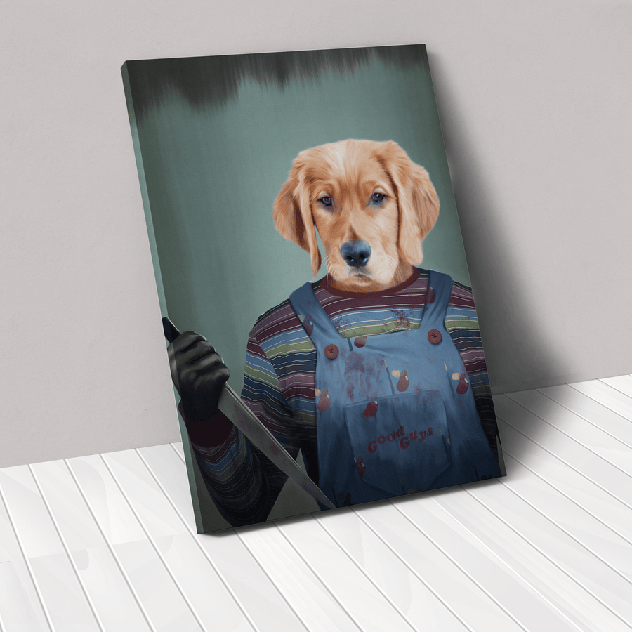 The Chucky - Custom Pet Canvas