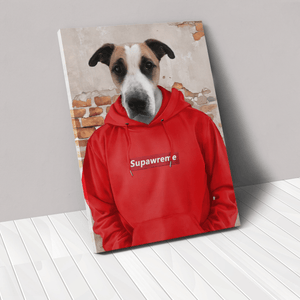 The Hypebeast - Custom Pet Canvas
