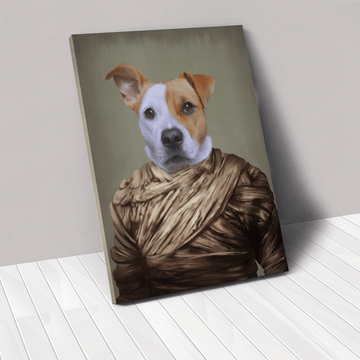 The Mummy - Custom Pet Canvas
