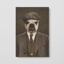 Load image into Gallery viewer, The Peaky Blinder - Custom Pet Canvas